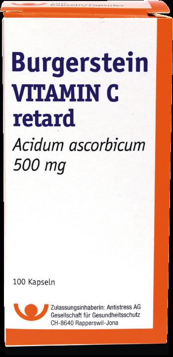 Burgerstein Vitamin C Kapseln 500mg
